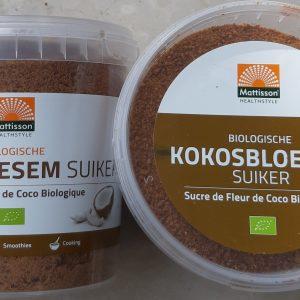 vervangende suikers/zout/overig